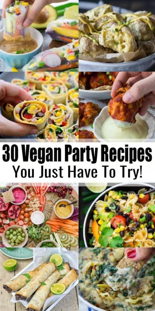 Vegan Party Recipes