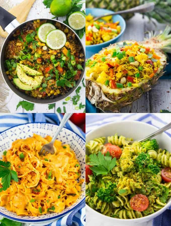 15 Easy Vegan Weeknight Meals