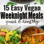 15 Vegan Weeknight Meals
