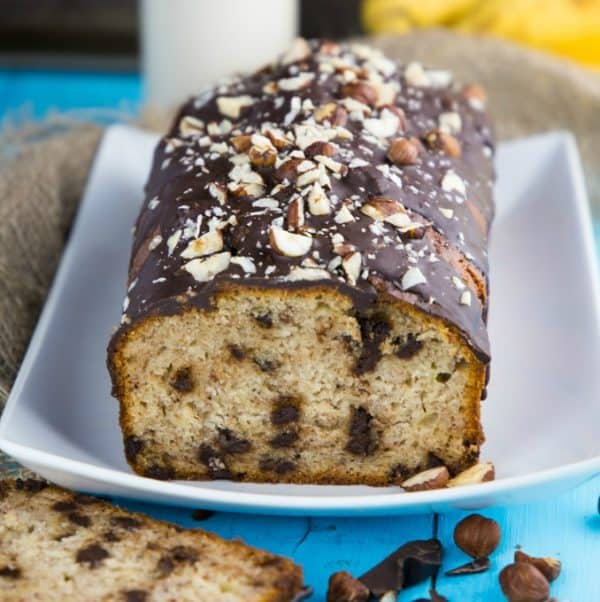 Banana Bread without Butter and Eggs