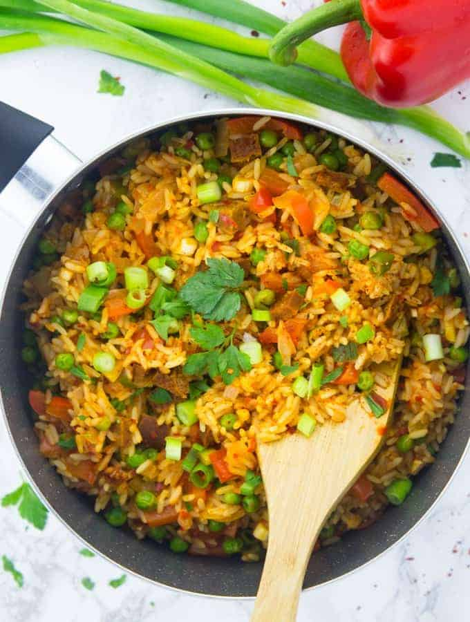 One Pot Vegetable Rice