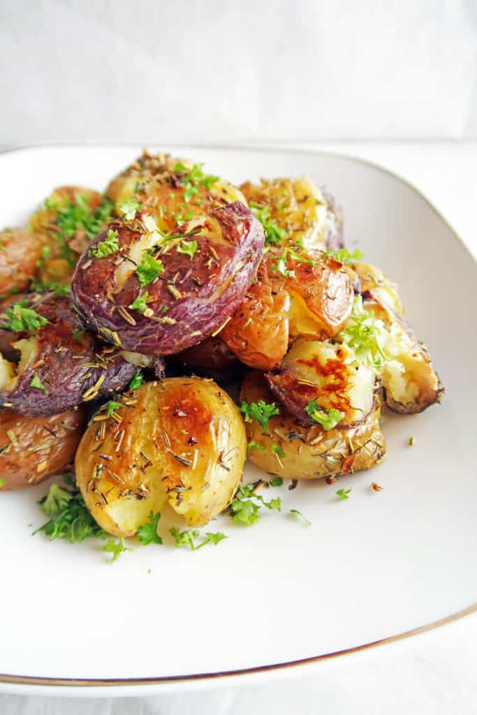 thanksgiving vegan recipes eat vegans festive food smashed popular baby most garlic potatoes yay crispy marie whole