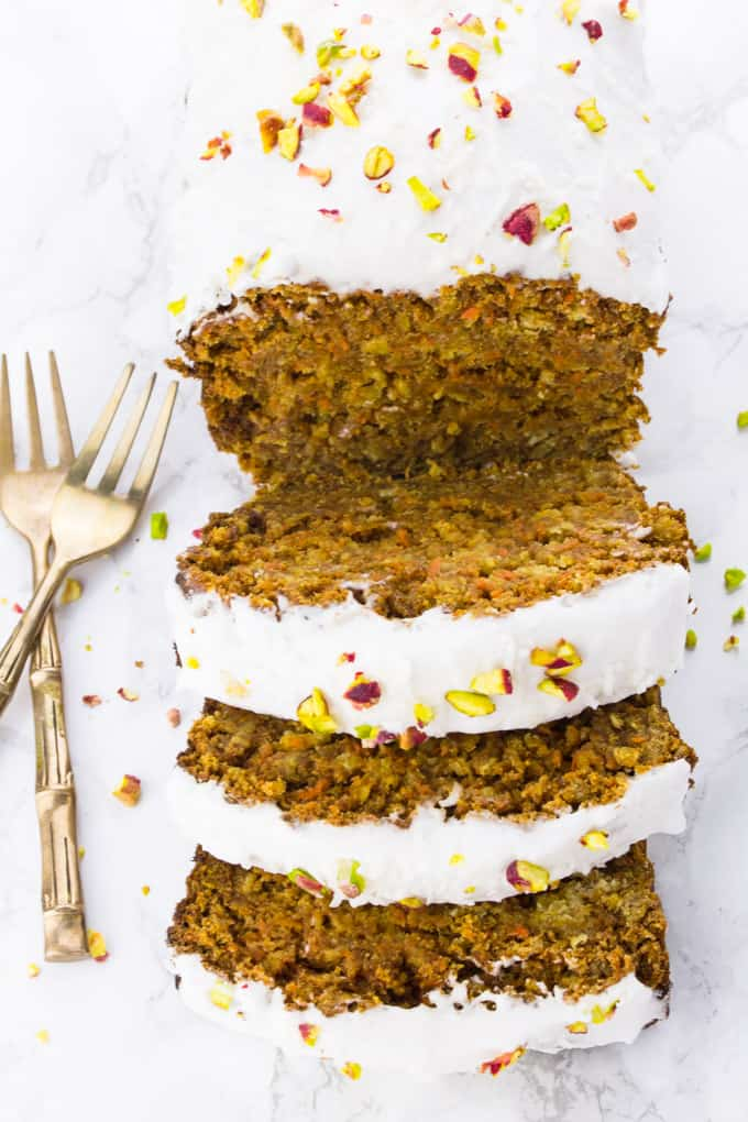 Vegan Carrot Cake With Coconut Cream Vegan Heaven