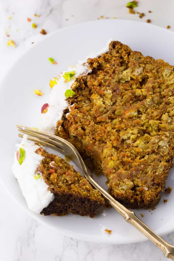 Carrot Cake Recipe With Coconut Flakes