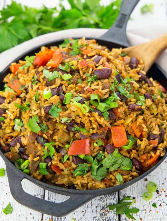 Vegan jambalaya with beans vegan heaven vegan jambalaya with beans forumfinder Images