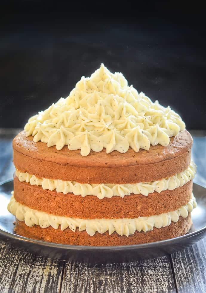 Vegan Maple Bundt Cake