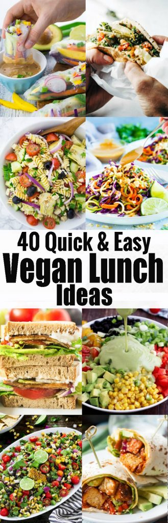 Vegan Lunch Ideas
