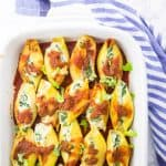 Vegan Stuffed Shells with Spinach