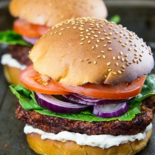 Cauliflower Burger (Vegan & Super Crispy)