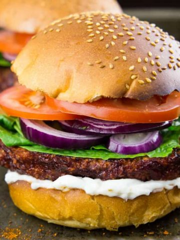 Cauliflower Burger