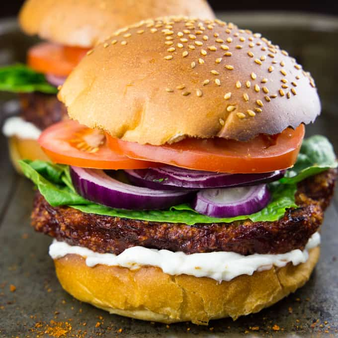 Cauliflower Burger