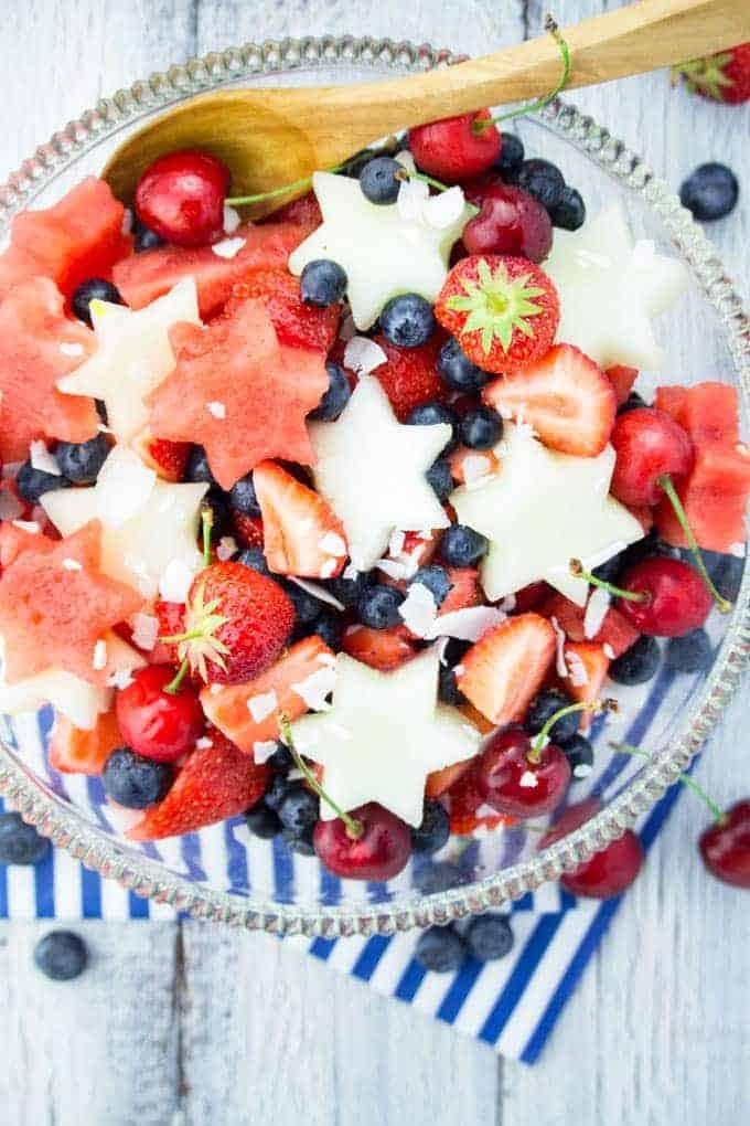 4th of July Fruit Salad