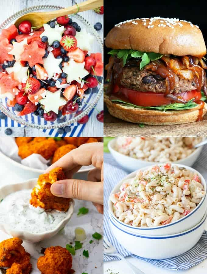 Vegan 4th of July Recipes