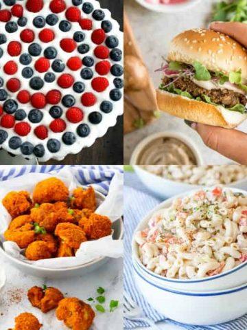 Vegan 4th of July Recipes
