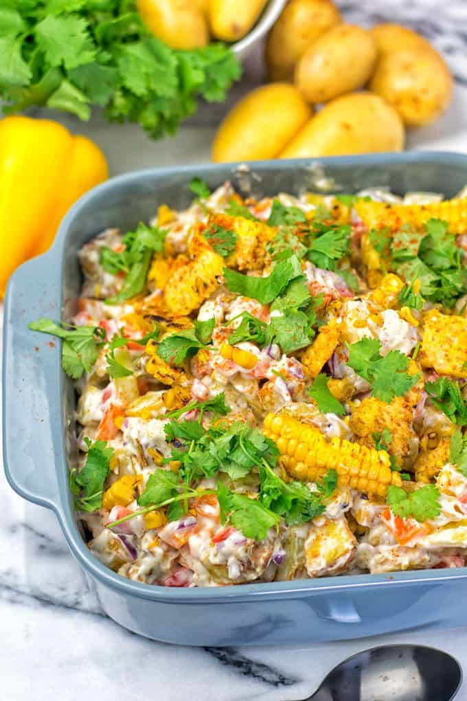 Mexican Street Corn Potato Salad