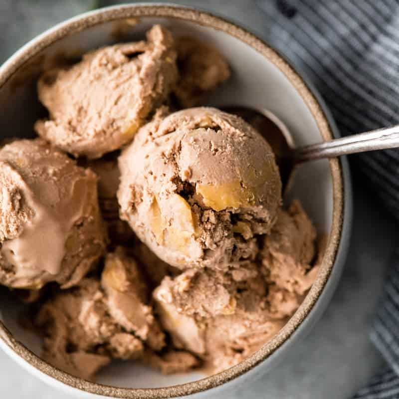 Dairy-Free Chocolate Peanut Butter Ice Cream