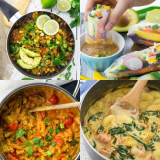 22 Easy Vegan Dinner Recipes for School Nights
