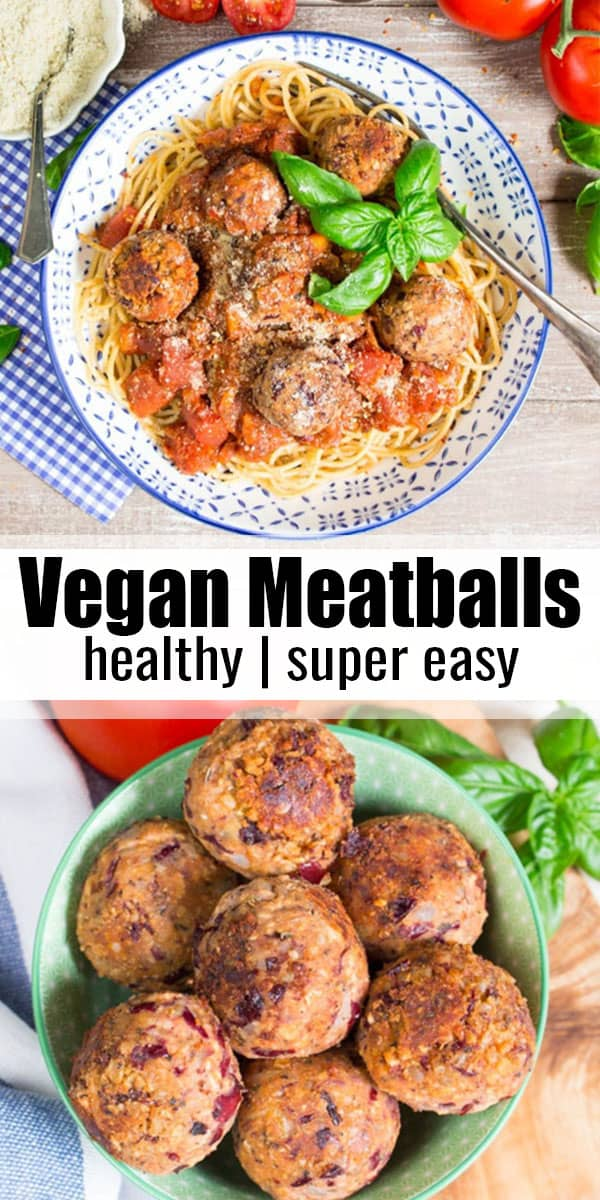 These vegan meatballs are one of my all-time favorite vegetarian recipes! They're the perfect comfort food and make such a great vegan dinner! Find more pasta recipes and vegan recipes at veganheaven.org ! #vegan #meatballs #pasta