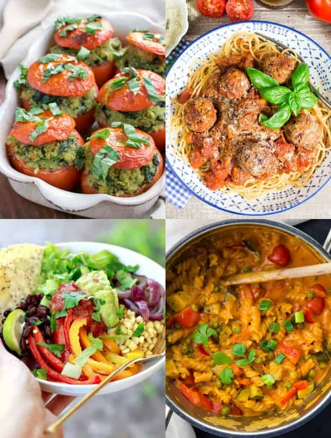 35 Easy Vegan Dinner Recipes For Weeknights Vegan Heaven