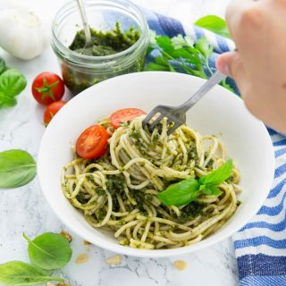 Vegan Pesto with Basil