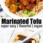 Marinada de Tofu