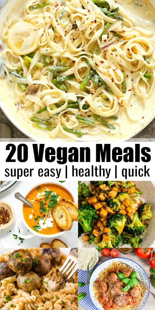 20 Vegan Meals for Busy Weeknights