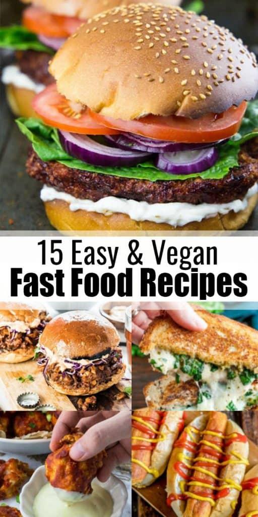 Vegan Fast Food Recipes