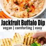 Jackfruit Buffalo Dip