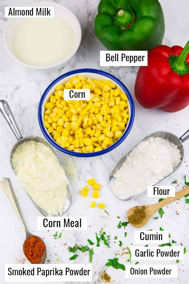 ingredients that go into this recipe with labels